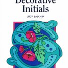 Decorative Initials - Judy Balchin - New