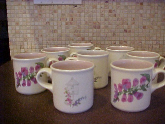 Pfaltzgraff Cape May mugs - 8
