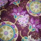 Royal Medallion- Cabernet Flannel Lining