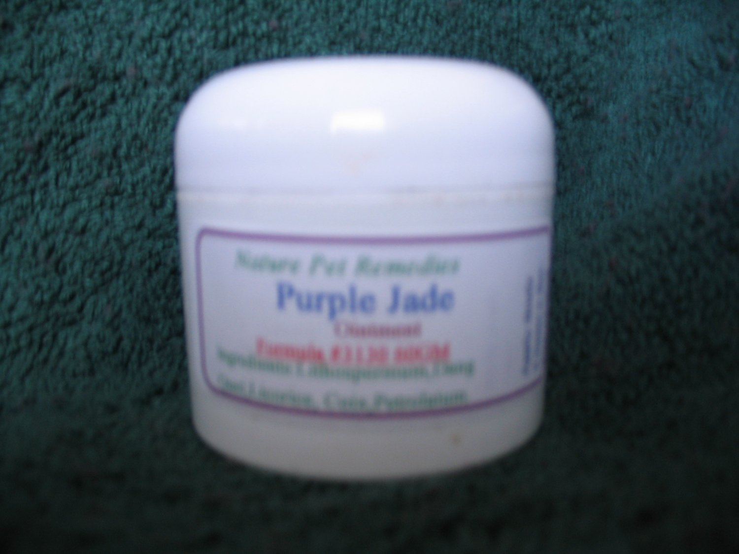 Purple Jade  Balm # 3130 60 GM