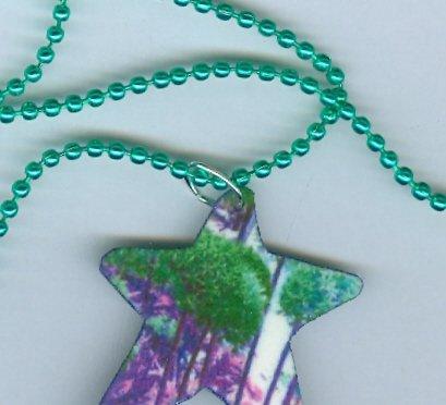 Green Allium Star