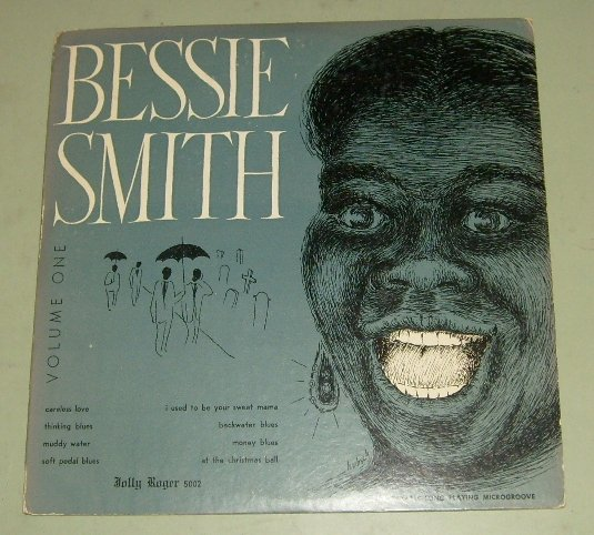 """Bessie Smith  Vol. 1   Blues Record  10"""" Jolly Roger"""