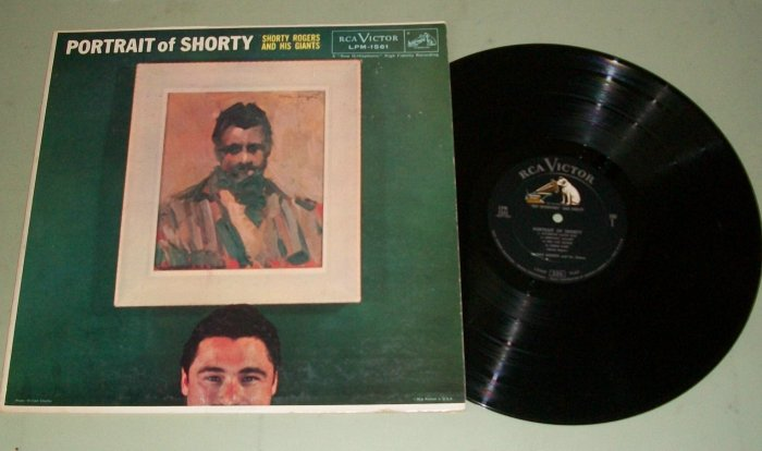 Shorty Rogers And His Giants  Portrait Of Shorty  RCA  1561  Jazz Record  LP