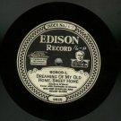 Memory Lane / Dreaming Of My Old Home  Walter Scanlan & Helen Clark   EDISON 80809  Record