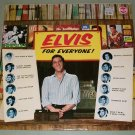 Elvis Presley   Elvis For Everybody  Germany Issue   RCA LSP-3450  Record  LP