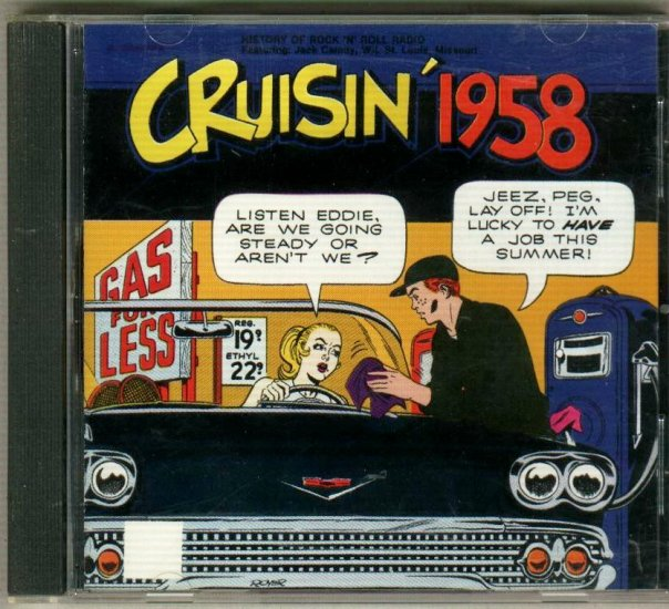 Cruisin' 1958   Early Rock and Roll Music  CD