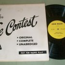 The Contest   Adult Humor  Breeze Records 3467