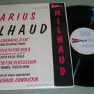 Darius Milhaud  Radio Luxemburg  Classical Record LP