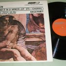 Beethoven Symphony No. 9  Ansermet  Choral Record LP