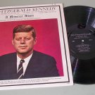 John Fitzgerald Kennedy  A Memorial Album 1963 Record LP