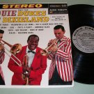 Louie And The Dukes Of Dixieland  Jazz Record LP Louis Armstrong
