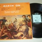 March On (Sousa)  The Blue Blazers Band  Rondo-lette Record LP
