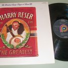 Harry Reser Best Cuts  The Greatest  Record LP