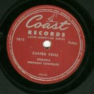 Emilio Barney / Hermanos Dominguez  78 rpm Latin Polka Record