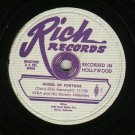 Ezra And His Beverly Hillbillies RICH  7117  Record 78 rpm
