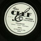 (Ezra) Ezera And His Beverly Hillbillies CLEF 101 Record 78 rpm  Colorado