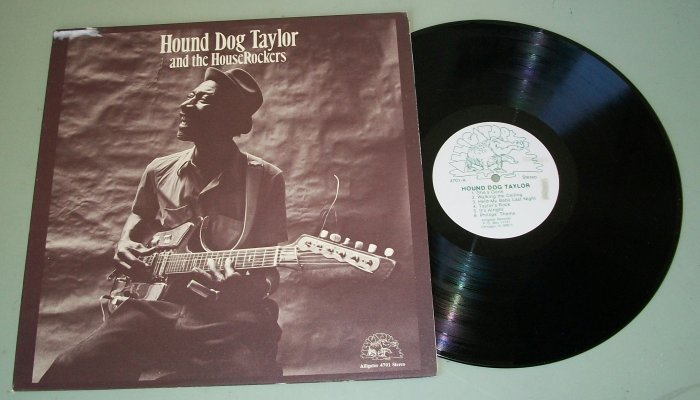 Hound Dog Taylor and the House Rockers  ALLIGATOR 4701 Blues Record