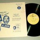Bing Crosby and Al Jolson Philco Radio Time TOTEM 1003 Record LP
