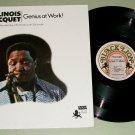 Illinois Jacquet  Genius At Work Jazz Record LP BLACK LION 146
