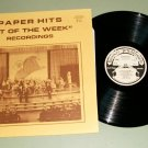 """Paper Hits """"Hit Of The Week"""" Recordings Vol. 1 Record LP"""