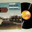 """Poulenc Organ Concerto & Andre Previn 12"""" LP 45 rpm QUAD Record"""