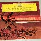 Sibelius Symphony No. 5 Herbert Von Karajan DGG 138 973 Tulip Record LP
