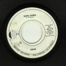 Crow - Slow Down / Cottage Cheese - PROMO 45 rpm Record