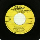 Tommy Sands - This Thing Called Love -  CAPITOL 1123 - PROMO 45 rpm EP Record