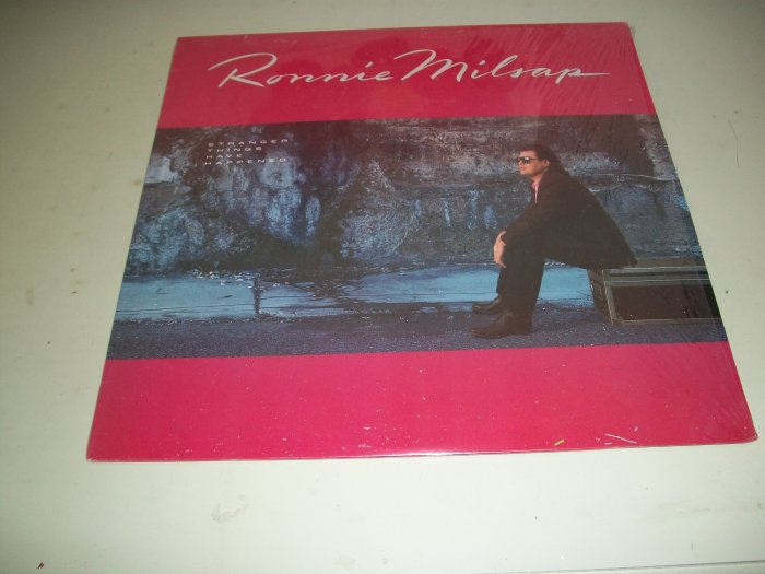 Ronnie Milsap - Stranger Things Have Happened - Country Record LP