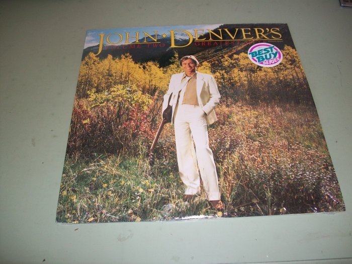John Denver - Greatest Hits Volume 2 - Pop/Country Record LP