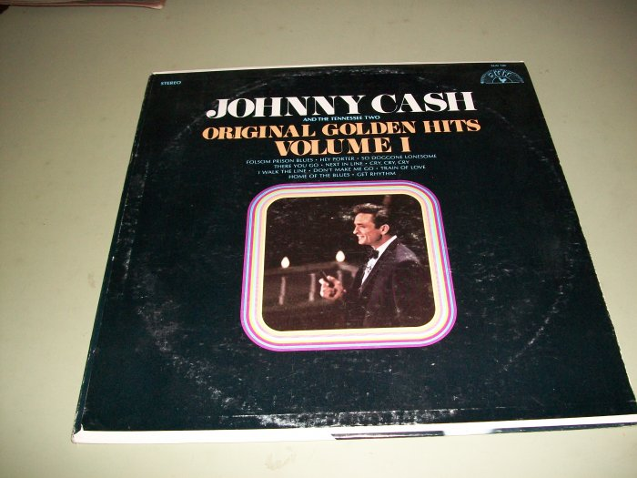 Johnny Cash - Golden Hits - SUN 100 - Country Record LPi