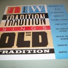 The New Tradition Sings The Old Tradition - Various Artist - Country Record LP