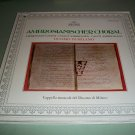Ambrosianischer Choral - Duomo Di Milano - Archiv Record LP