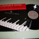 Constance Keene Plays Mendelssohn - Laurel Protone Record LP