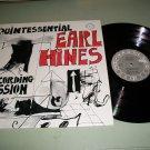Quintessential Earl Hines - CR 101 - Jazz Record LP