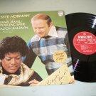 Jessye Norman & Dalton Baldwin - Philips Classical LP Record