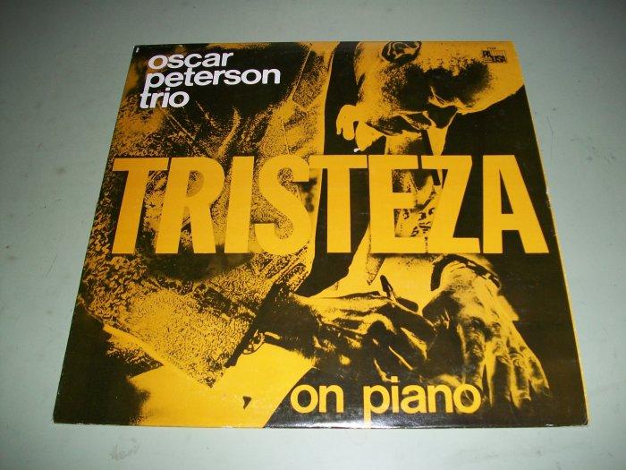 Oscar Peterson Trio - Tristeza - Jazz Record LP