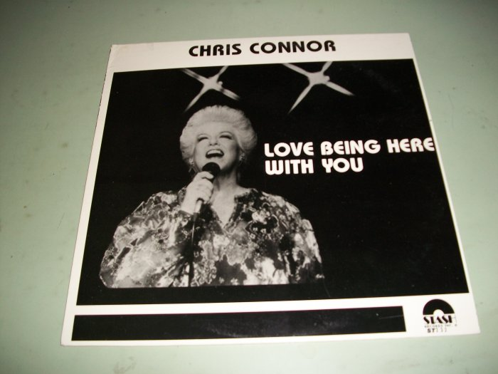 Chris Connor - Love Being Here With You - Record LP