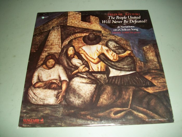 Frederic Rzewski - The People United Will Never Be Defeated - Chilean Songs - Record