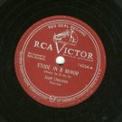 "Josef Lhevinne Etude in B Minor - 78 rpm -12"" Record"