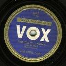 Jakob Gimpel - Prelude In G Major - VOX 610 - 78 rpm Record