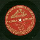 """Titta Ruffo  Dai Canti D'amore -  A Song Of Love  12"""" One sided Record  78 rpm"""