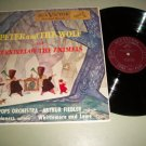 Peter And The Wolf & Carnival Of The Animals - Boston Pops - RCA 1761 Record LP