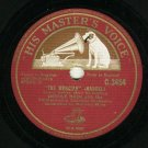 Heddle Nash The Messiah Handel 78 rpm HMV Record