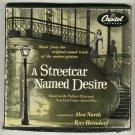 A Streetcar Named Desire  Original 4 Record Box Set 45 rpm