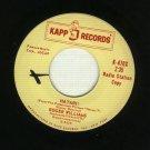 Roger Williams - Hatari - KAPP 470 - 45 rpm PROMO Record