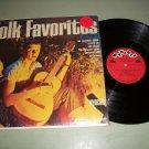 Folk Favorites Raun MacKinnon Wyncote 9010 Record LP
