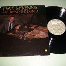 Dave McKenna - My Friend The Piano - Digital Jazz Record LP