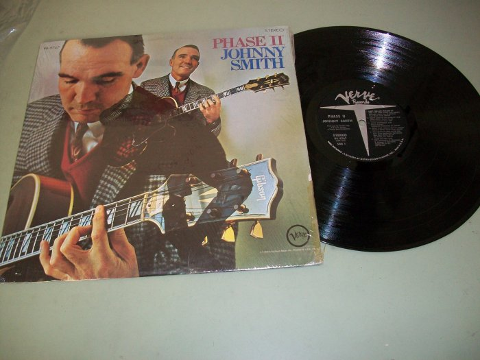 Johnny Smith - Phase 2 - VERVE 8767 - Guitar Record LP