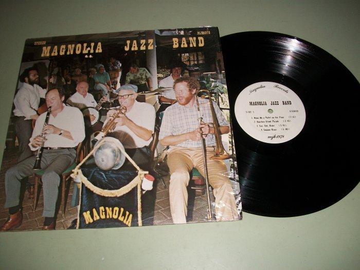 Magnolia Jazz Band - MJB 1978 - Rare Jazz Record LP